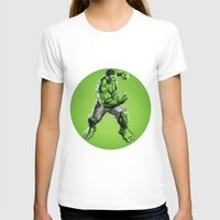 hulk T-shirts featuring HULK by Hands in the Sky