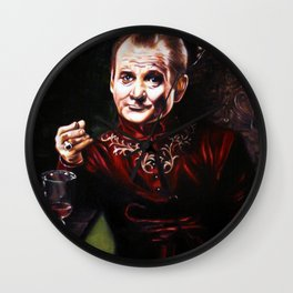 Bill Murray Hand of the King, Master of Coin Wall Clock