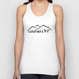 Colorad-OH! Creative Fun Wear Unisex Tank Top