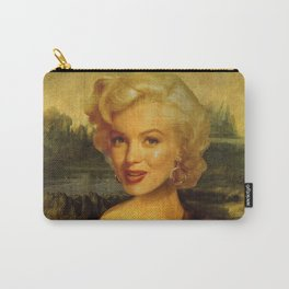Mona Lisa & Marylin Carry-All Pouch