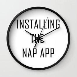 nap app Wall Clock