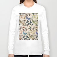 insect Long Sleeve T-shirts featuring Insect Jungle by Galvanise The Dog