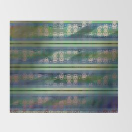 Abstract4 Throw Blanket