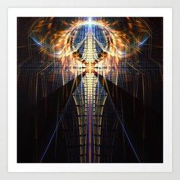 Fractality - Zachariel Art Print
