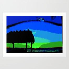 Florida Keys Sunset PA Art Print