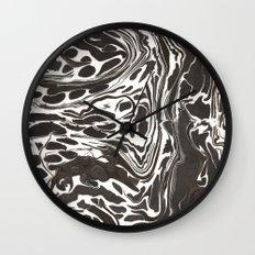 Suminagashi 09 Wall Clock