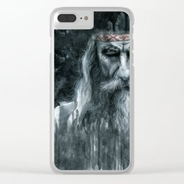 Slavic Magus Clear iPhone Case