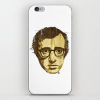 woody iPhone & iPod Skins featuring Woody by Ross Zietz
