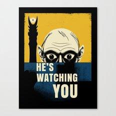 Watching You, Precious Canvas Print