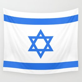 Israel Flag Wall Tapestry