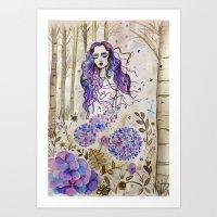 Ortensia Art Print