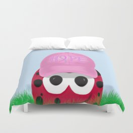 The Warrior Ladybug Duvet Cover