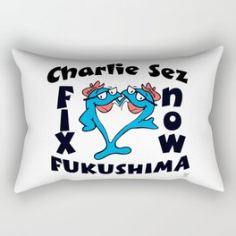 """Charlie Sez"" Rectangular Pillow"