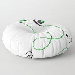 Ear Buds Floor Pillow