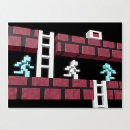 Inside Lode Runner Canvas Print