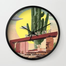 Desert Inn Wall Clock