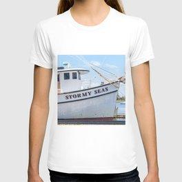 Stormy Seas - Fishing Vessel T-shirt