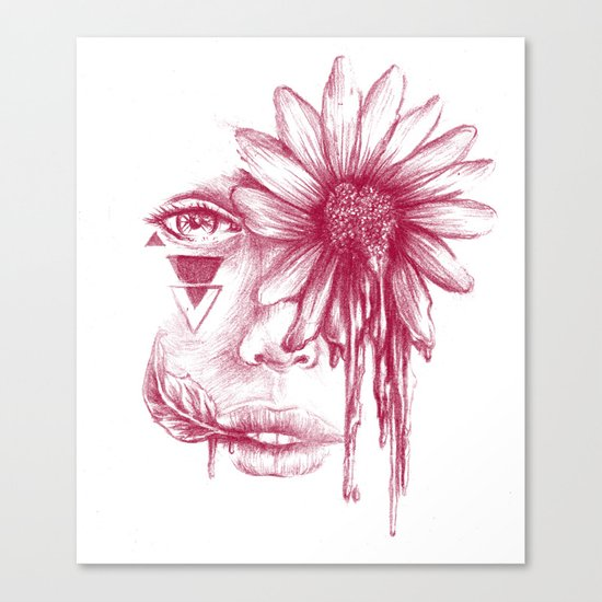 Love and Sorrow Canvas Print