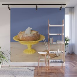 Cheese fondue Wall Mural