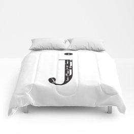 """j-ception - The Didot """"j"""" Project Comforters"""