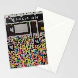Music On Ibiza Stationery Cards