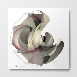 sphericalinversion_03_white Metal Print