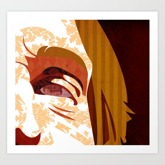 """""""Faces - Petty"""" by Kailyn Boehm Art Print"""