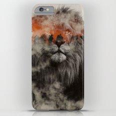 Lion In Fog iPhone 6s Plus Slim Case