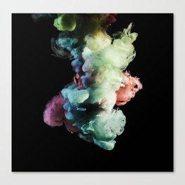 Colored Smoke Two Canvas Print