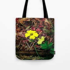 Only when there is sun Tote Bag