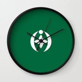 Flag of Chiba Wall Clock