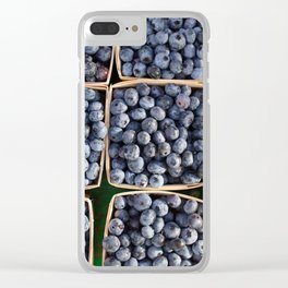 Blueberries to Share Clear iPhone Case
