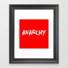 ANARCHY Framed Art Print