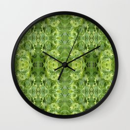 157 - spring plants design Wall Clock