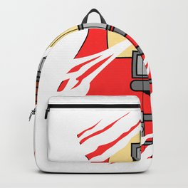 """When """"No Music No Life"""" Tee """" With A Creative Illustration Of An Electric Guitar T-shirt Design Backpack"""