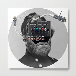 Marshall · Crop Circle Metal Print