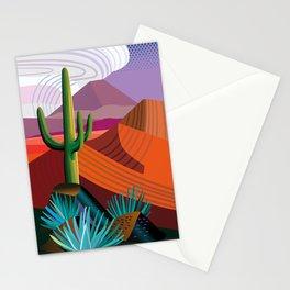 Thunderhead Builds in Arizona Desert Stationery Cards