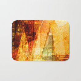 Coming home to harbour Bath Mat