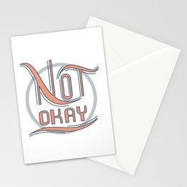 Not Okay Stationery Cards
