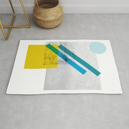 LOLA_1 abstract landscape Rug