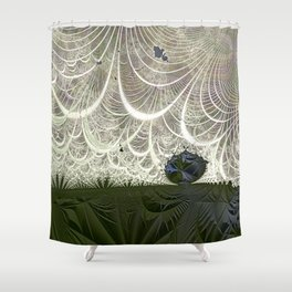Defying the winds Shower Curtain