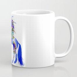 Magic Blue Unicorn Coffee Mug