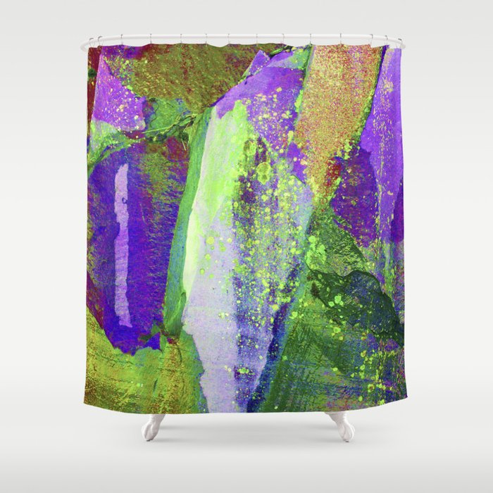 abstract nature // lake district Shower Curtain