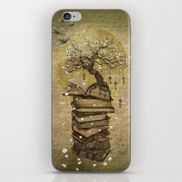 Knowledge is the key iPhone Skin
