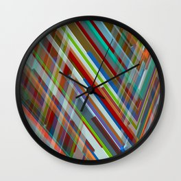 Abstract Composition 610 Wall Clock