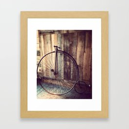 Pieces of the Past Framed Art Print