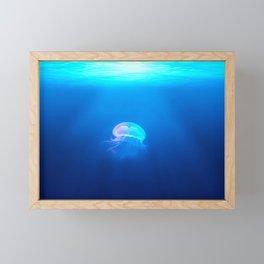 A Jellyfish Framed Mini Art Print