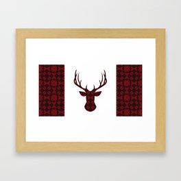 Cranberry Cariboo Canada Framed Art Print