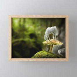 Fantasy Horse Fantasy Animals Framed Mini Art Print