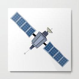 Satellite Metal Print